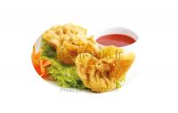 76 - Raviolis aux crevettes frits